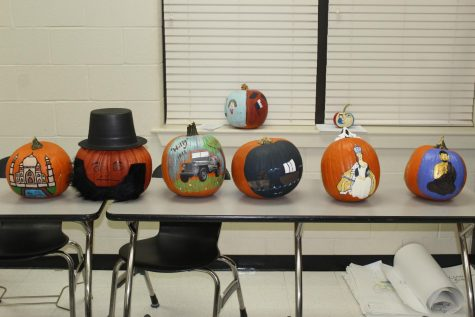 Painted Pumpkins Halloween Bonus Points