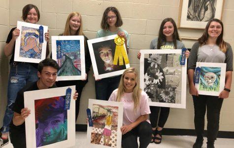 Art Students Represent at Lonoke County Fair