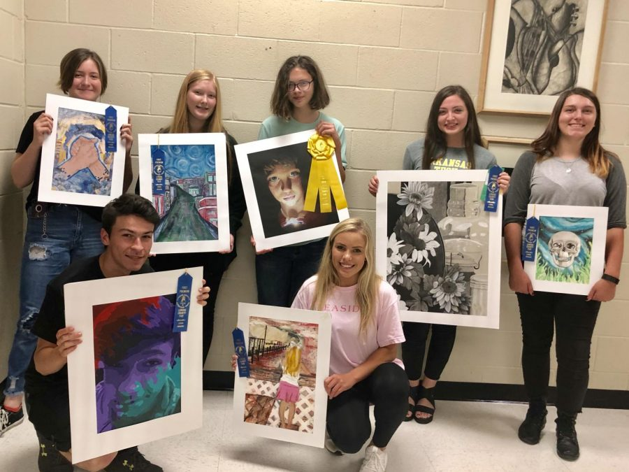 Art+Students+Represent+at+Lonoke+County+Fair